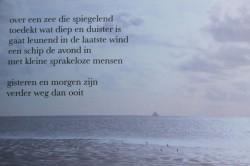 1a Avond op zee