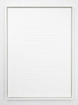 white stripes 13 (50x70)