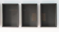 zwarte doosjes 3-luik